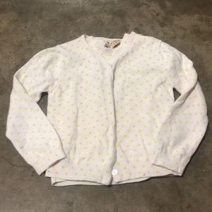 Two piece girls sweater set